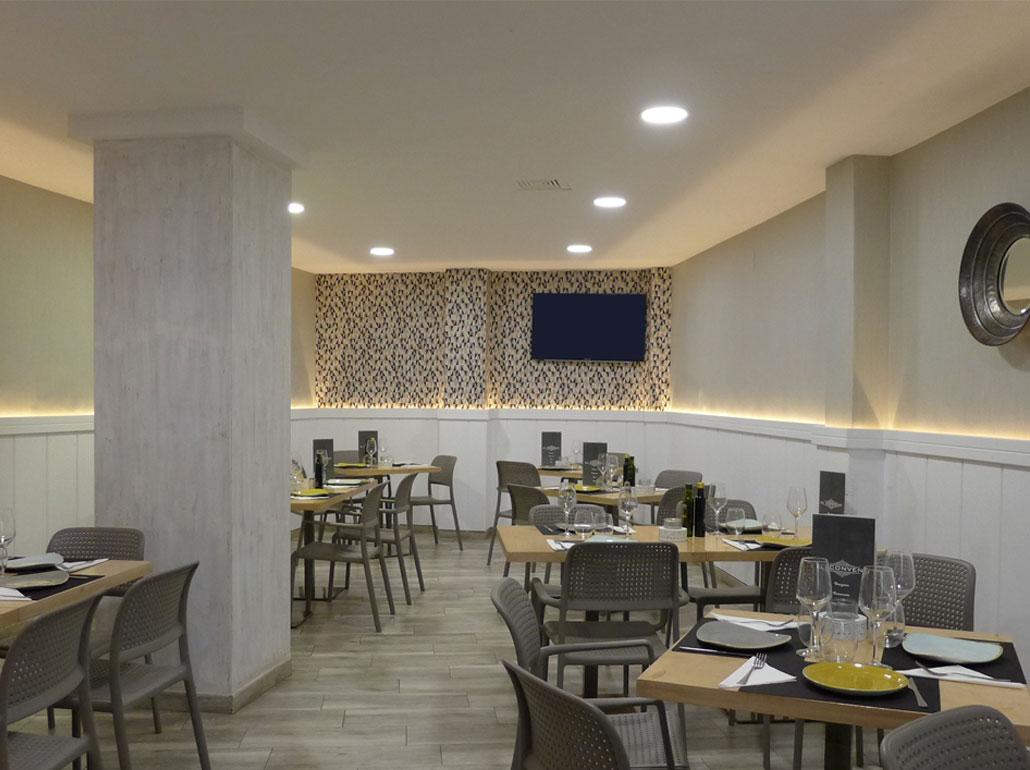 Salón interior Restaurante El Convent Jávea